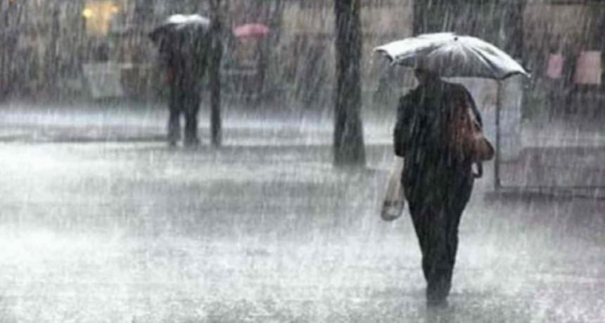 Alerta por lluvias y tormentas fuertes para Entre Ríos