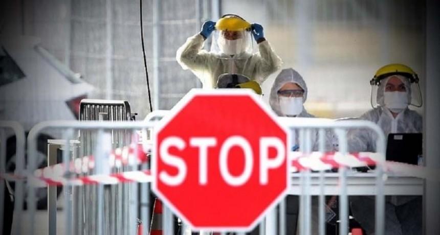 Coronavirus: hay 2571 personas afectadas y 112 fallecidos