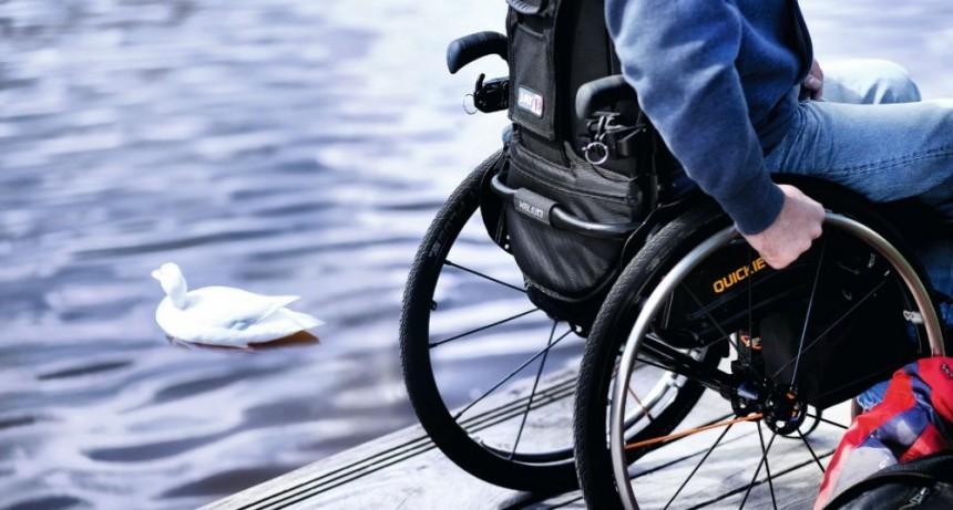 Salidas para discapacitados: Serán 500 metros de 45 minutos, dos veces al día