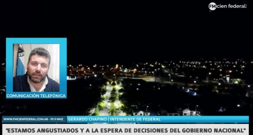 Gerardo Chapino: «Estamos angustiados y a la espera de las declaraciones del gobierno nacional y provincial»