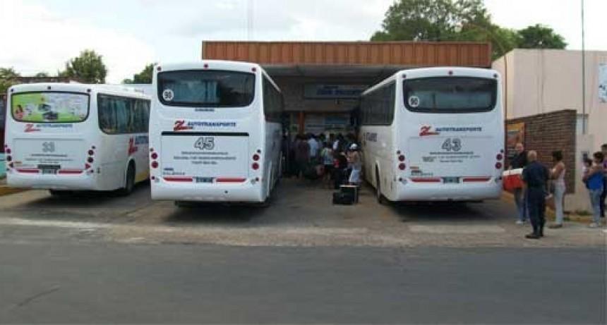Entre Ríos prorrogó la suspensión total del servicio de transporte interurbano