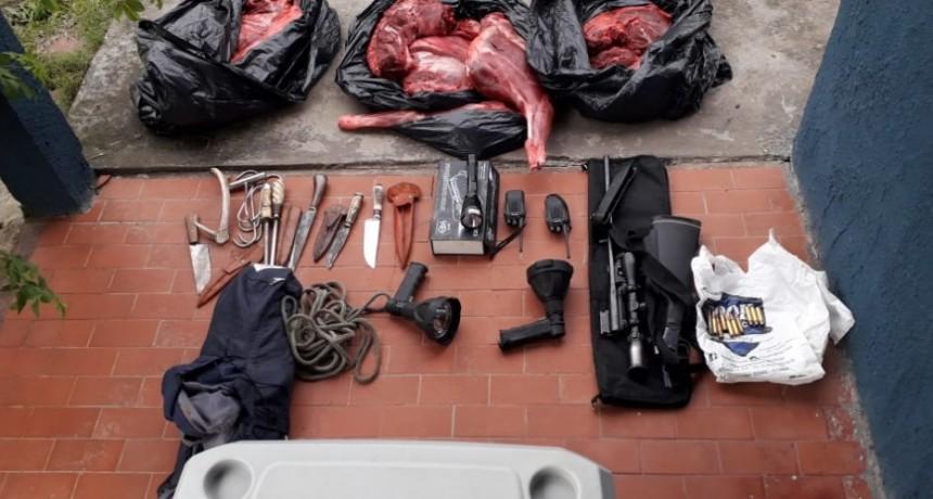 Tres detenidos por quebrantar el aislamiento y realizar cacería furtiva