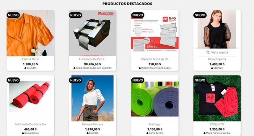 La Provincia lanzó una plataforma de venta online para comerciantes