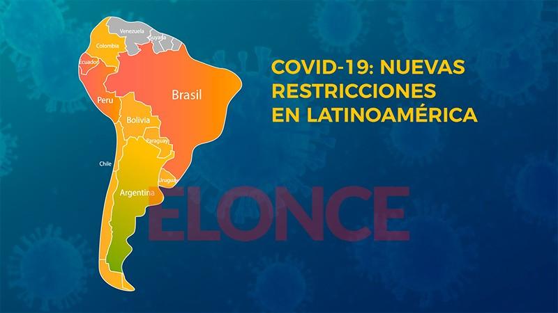 Segunda ola de Covid: qué restricciones establecieron los países sudamericanos