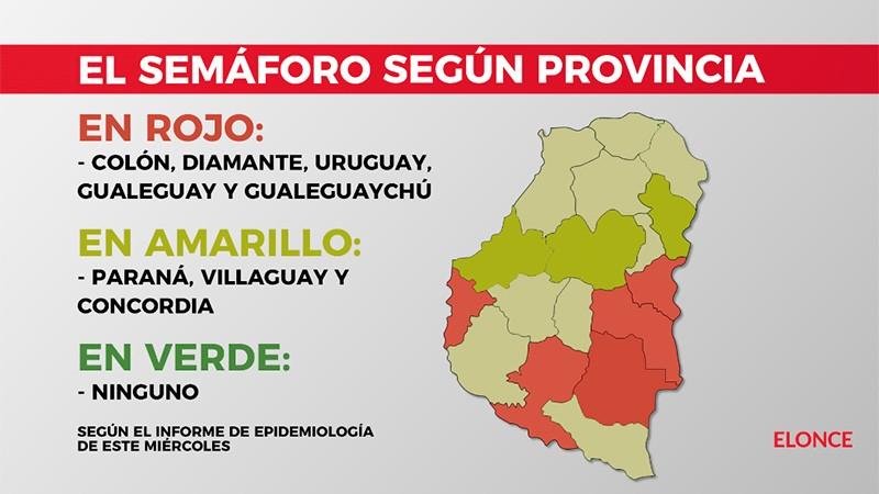 Cómo es la situación epidemiológica y evolución de la pandemia en Entre Ríos