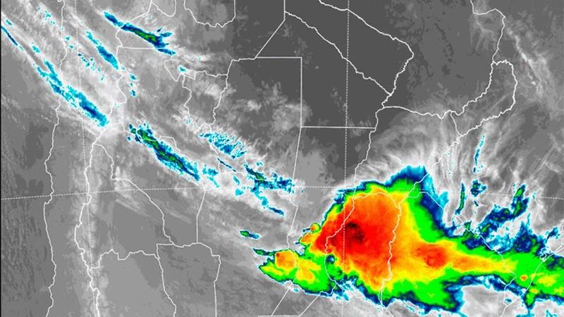 Sigue la lluvia: continúa en naranja nivel de alerta por tormentas en Entre Ríos