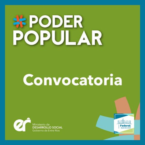 Convocatoria Poder popular