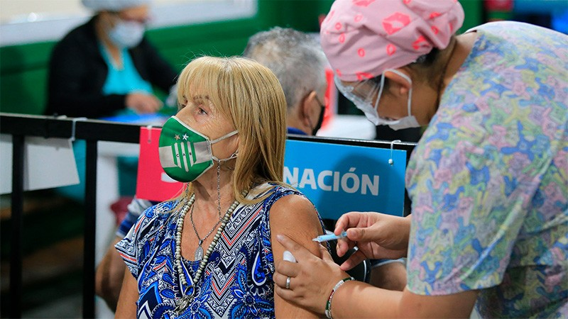 Vacunación contra el coronavirus: se aplicaron 5.201.468 de dosis en el país