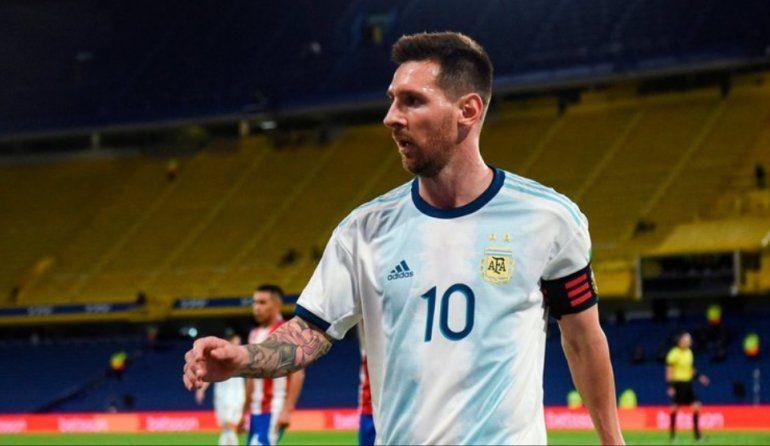 Por decisión de la UEFA, Messi no podrá jugar más en la Selección Argentina