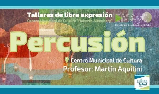 LA ESCUELA MUNICIPAL DE ARTES ABRIÓ LAS INSCRIPCIONES PARA NUEVOS TALLERES DE LIBRE EXPRESIÓN