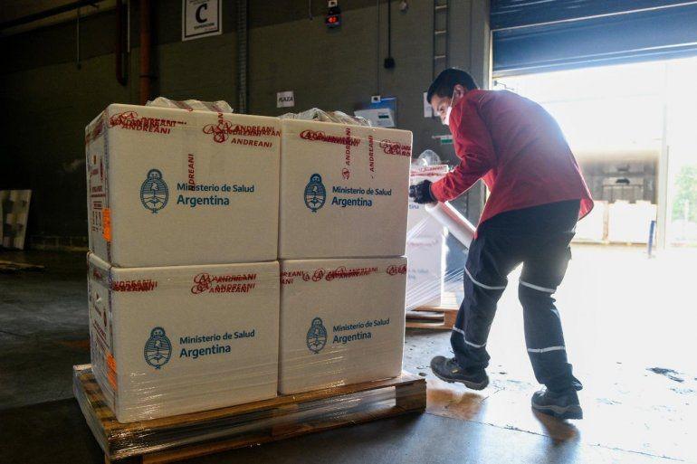 Este jueves llegarán a Entre Ríos casi 20 mil vacunas más