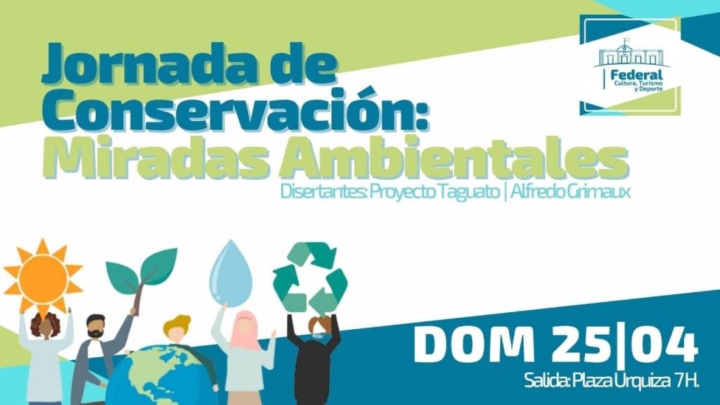 EL MUNICIPIO ORGANIZA UNA JORNADA DE CONSERVACIÓN CON MIRADA AMBIENTAL