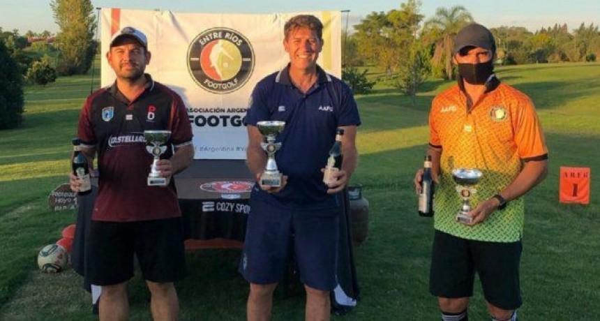 Pablo Donatti ganó la tercera etapa de Footgolf