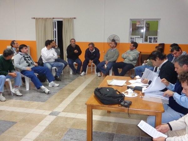 Reunión Provincial del COPMMOTER
