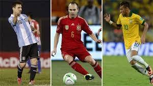 Las selecciones que más cotizan en Brasil 2014