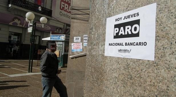 Este jueves paro Bancario en todo el país y la provincia
