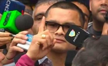 El Chino Maidana regresó al país: