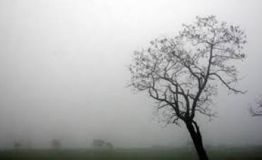 Las neblinas seguirán este día en Federal