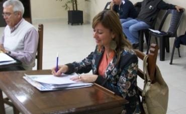 Aceptaron la renuncia de la Concejal Albana Zacarías
