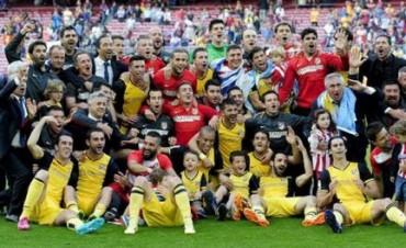 El Atlético de Madrid del Cholo Simeone gritó campeón en España