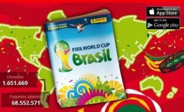 El álbum virtual de las figuritas del Mundial llegó a los celulares y tablets.