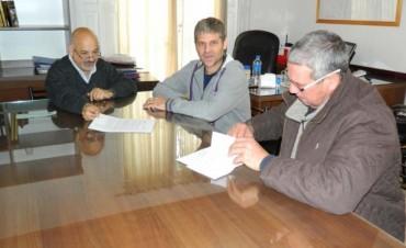 El Municipio aporta recursos para la construcción de la nueva sede del Fútbol de Veteranos