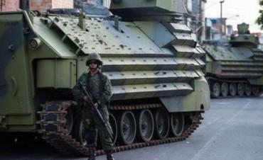 Unos 20.000 policías y militares garantizarán la seguridad de Río en el Mundial