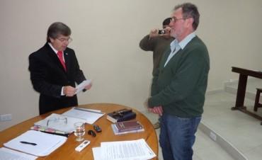 Discutida sesión en el Concejo Deliberante y Juró Antonio