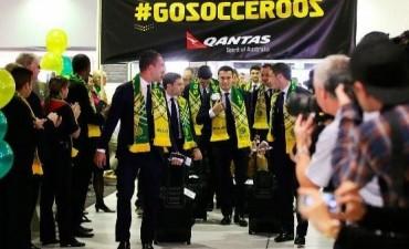 Australia fue la primera selección en llegar a Brasil