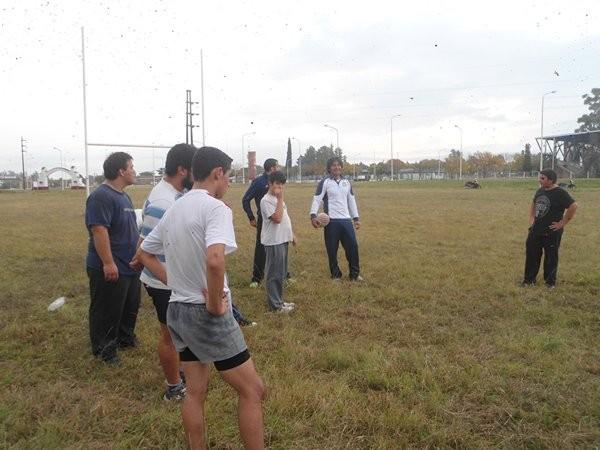 Comenzó nuevamente la práctica del Rugby en Federal