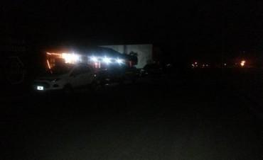 Preocupación de comerciantes y vecinos por falta de iluminación