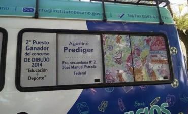 Agustina Prediger obtuvo el 2do premio de Dibujo en un concurso del Becario