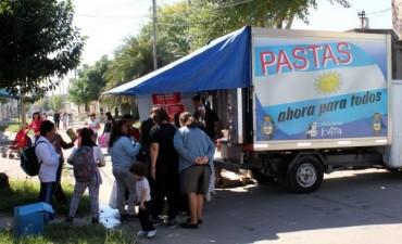 El camión de Carne y Pastas para todos sale a recorrer la provincia