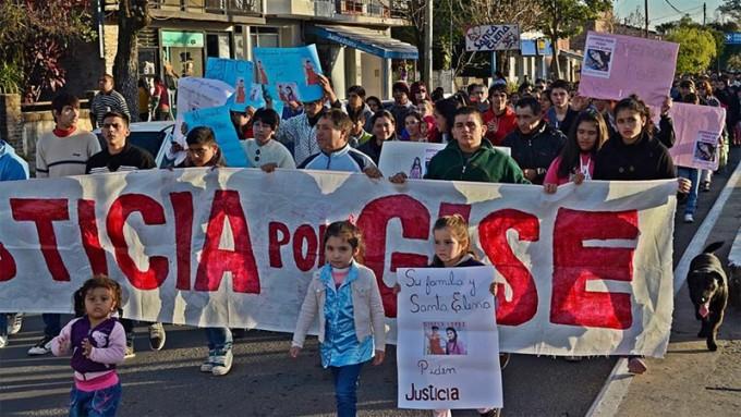 Caso Gisela Loepz :Siguen los reclamos por justicia en Santa Elena