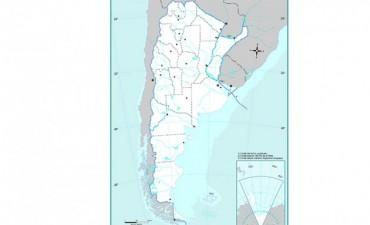 Por nuevos límites de la plataforma continental cambiarán los mapas escolares