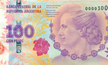 Se multiplican las estafas con billetes falsos que tienen la imagen de Evita