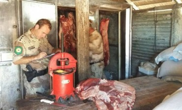 Operativos de control en carnicerías  del Departamento
