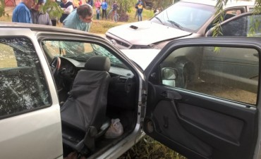 Móvil Municipal involucrado en grave accidente