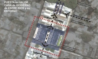 Nación, provincia y municipio pondrán en valor el Centro Cívico