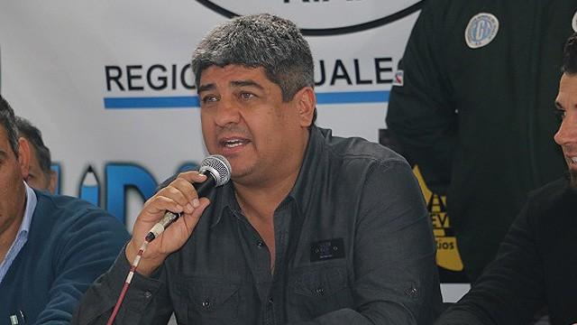 Pablo Moyano anunció un nuevo paro general desde Entre Ríos