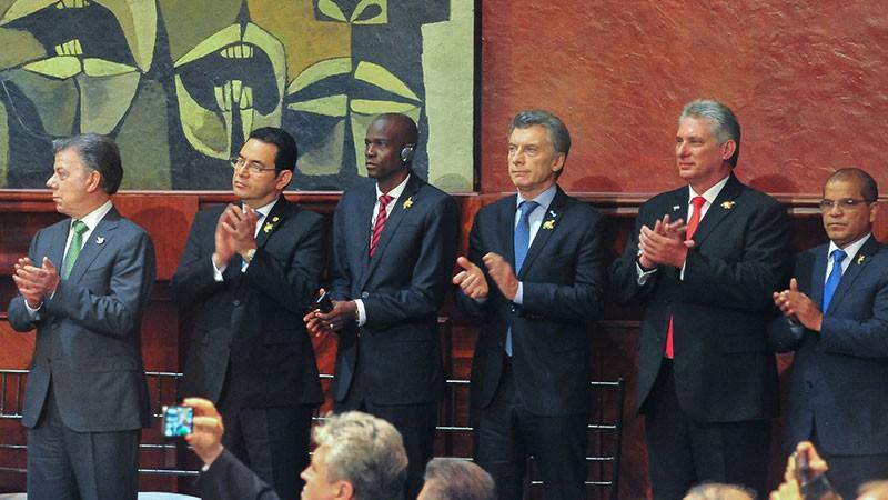 El presidente Macri sufrió una leve descompensación en Quito