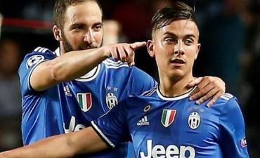 Con goles de Higuaín Juventus venció a Mónaco y acaricia la Final de la Champions