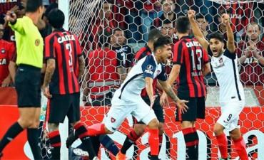 San Lorenzo obtuvo una victoria en Brasil y mantiene la ilusión en la Libertadores