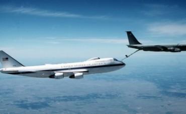 La aeronave que protegerá a Trump en caso de una guerra nuclear