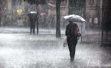 Alerta por lluvias y tormentas intensas: Podrían caer hasta 100 milímetros