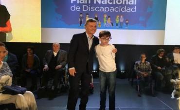 Macri presentó el Plan Nacional de Discapacidad