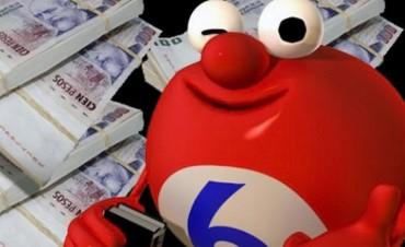 Apostador entrerriano ganó 180 mil pesos en el Quini 6