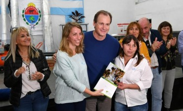 El gobernador anunció obras en San José de Feliciano