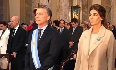 Macri asistió al Tedeum, ante fuerte mensaje social de Poli: