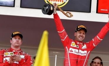 Vettel consolidó su liderazgo con una victoria en Mónaco